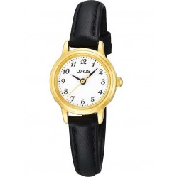 Lorus Ladies Leather Strap Watch RG296HX9