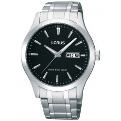 Lorus Mens Stainless Steel Watch RXN37CX9