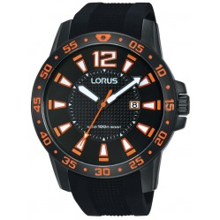Lorus Mens Black Watch RH931FX9