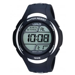 Lorus Mens Digital Blue Watch R2337EX9
