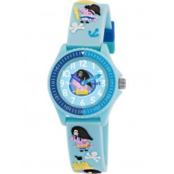 Peppa Pig Kids Time Teacher Blue Watch PP002