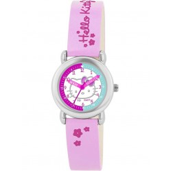 Hello Kitty Kids Pink Time Teacher Watch HK025