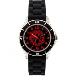 Avengers Kids Black Spiderman Watch SPD3456