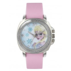Disney Kids Frozen Elsa Pink Strap Watch FZN3637