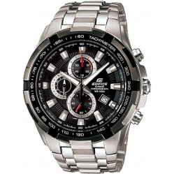 Casio Edifice Classic Chronograph Black Bracelet Watch EF-539D-1AVEF