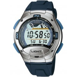 Casio CASIO Collection Men Digital Blue Plastic Strap Watch Watch W-753-2AVES