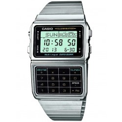 Casio Mens Illuminator Databank Digital Bracelet Watch DBC-611E-1EF