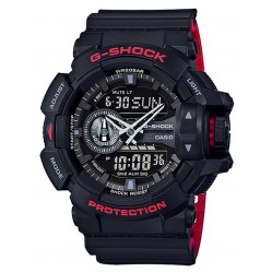 Casio Mens G-Shock Classic Duo Display Strap Watch GA-400HR-1AER