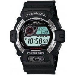 Casio G-Shock Classic Solar Digital Black Plastic Strap Watch GR-8900-1ER