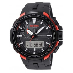 Casio Mens Protrek Duo Display Strap Watch PRW-6100Y-1ER