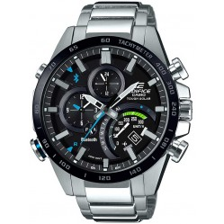 Casio Mens Edifice Connect Black Bracelet Smartwatch EQB-501XDB-1AER