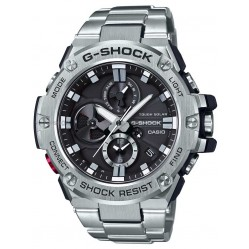 Casio Mens G-Shock G-Steel Connect Chronograph Bracelet Watch GST-B100D-1AER