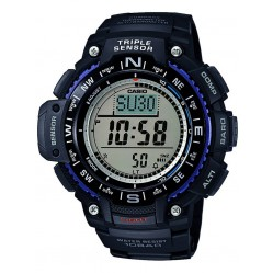 Casio Mens Triple Senser Rubber Watch SGW-1000-1AER