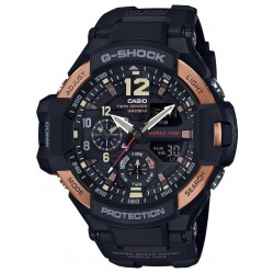 Casio Mens G-Shock Black Digital Watch GA-1100RG-1AER