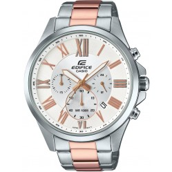 Casio Mens Edifice Two Tone Watch EFV-500SG-7AVUEF