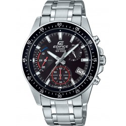 Casio Mens Edifice Black Dial Bracelet Watch EFV-540D-1AVUEF