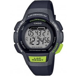 Casio CASIO Collection Digital Black Plastic Strap Watch LWS-1000H-1AVEF