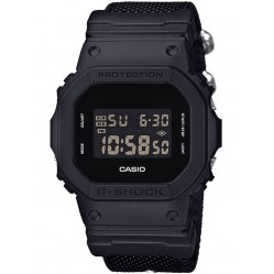 Casio G Shock Origins Digital Black Fabric Strap Watch DW-5600BBN-1ER