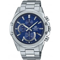 Casio Edifice Classic Chronograph Blue Bracelet Watch EFR-S567D-2AVUEF