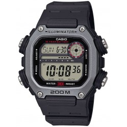 Casio CASIO Collection Digital Black Plastic Strap Watch DW-291H-1AVEF