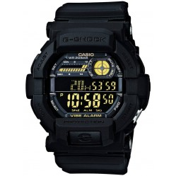Casio G-Shock Classic Digital Chronograph Black Plastic Strap Watch GD-350-1BER