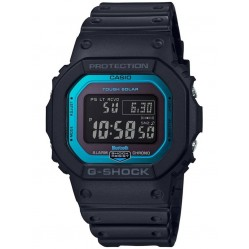 Casio G-Shock Sports Digital Chronograph Blue Plastic Strap Watch GW-B5600-2ER