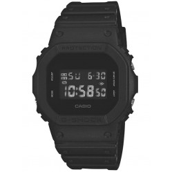 Casio G-Shock Sports Digital Chronograph Black Plastic Strap Watch DW-5600BB-1ER