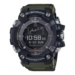 Casio Master Of G Rangeman Bluetooth Solar Green Smartwatch GPR-B1000-1BER