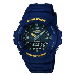 Casio Gents G-Shock Ill Blue Watch G-100-2BVMUR