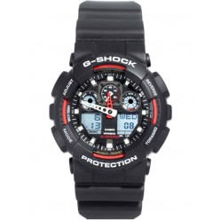 Casio Mens G-Shock Watch GA-100-1A4ER