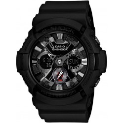 Casio G-Shock Chronograph Rubber Strap Watch GA-201-1AER