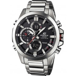 Casio Mens Edifice Solar Powered Chronograph Watch ECB-500D-1AER