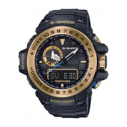 Casio Mens G-Shock Gulf Master Gold Plated Watch GWN-1000GB-1AER