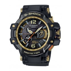 Casio Mens G-shock Gravitymaster Gold Plated Watch GPW-1000GB-1AER