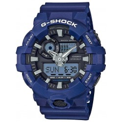 Casio G-Shock Blue Strap Watch GA-700-2AER