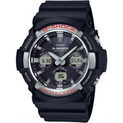 Casio Mens G-Shock Classic Black Rubber Strap Watch GAW-100-1AER