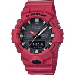 Casio Mens G-Shock Red Digital Watch GA-800-4AER