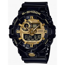 Casio Mens G-Shock Alarm Watch GA-710GB-1AER