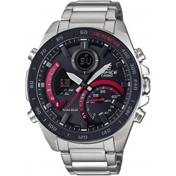 Casio Edifice Bluetooth Solar Red Bracelet Smartwatch ECB-900DB-1AER