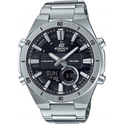 Casio Edifice Dual Display Chronograph Black Bracelet Watch ERA-110D-1AVEF