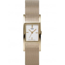 Timex Ladies Indiglo Mesh Bracelet Watch T2J921