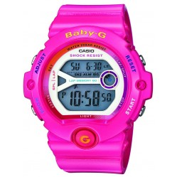 Casio G-Shock Baby-G Digital Pink Plastic Strap Watch BG-6903-4BER