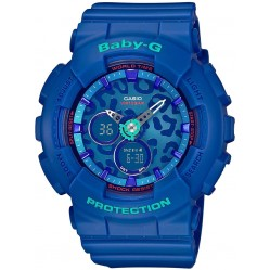 Casio Ladies Baby G Blue Digital Watch BA-120LP-2AER