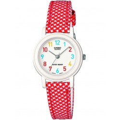 Casio Junior Collection Multi-Coloured Fabric Strap Watch LQ-139LB-4BER