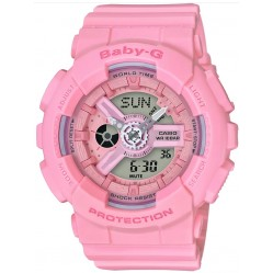 Casio Ladies Baby-G Deep Pink Plastic Watch BA-110-4A1ER