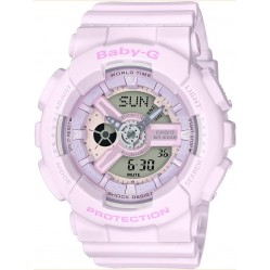 Casio Ladies Baby-G Light Pink Plastic Watch BA-110-4A2ER