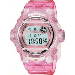 Casio Ladies Baby-G Pink Plastic Watch BG-169R-4ER