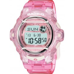 Casio G-Shock Baby-G Digital Pink Plastic Strap Watch BG-169R-4ER