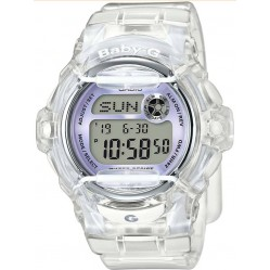 Casio Ladies Baby-G Clear Plastic Watch BG-169R-7EER