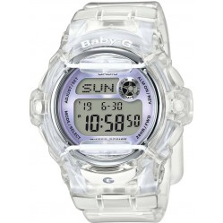 Casio G-Shock Baby-G Digital Clear Plastic Strap Watch BG-169R-7EER